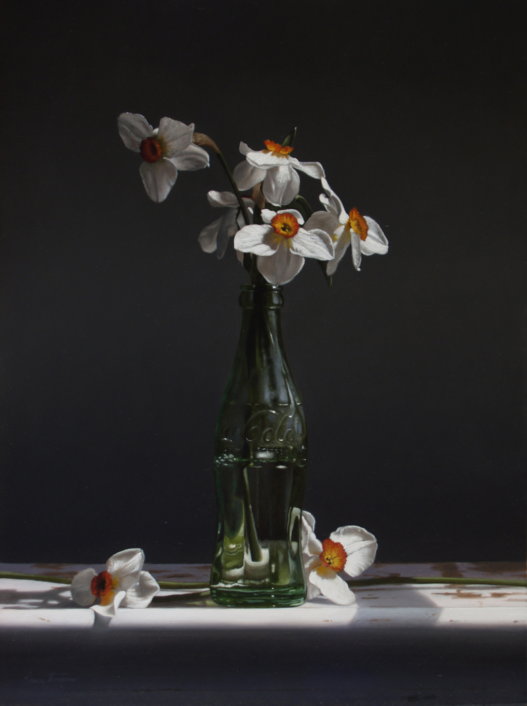 Larry Preston Narcissus-16-x12-5-2012-b