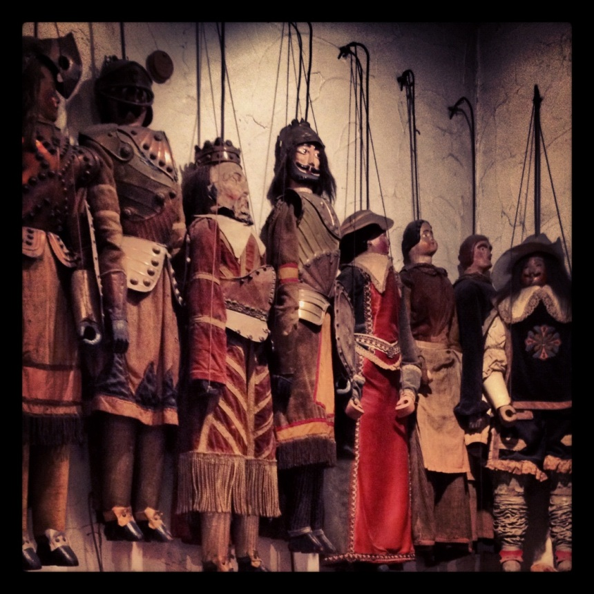 Marionettes, Toon Puppet Theatre Brussels