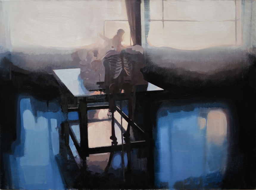 Felicia_Forte_dismantling something you worked so hard to create_oil on canvas_30x40