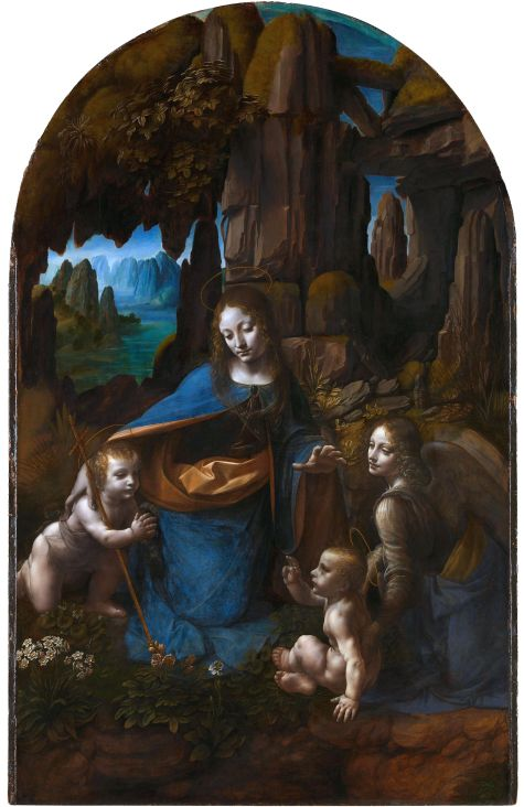 "Leonardo da Vinci's ""The Virgin of the Rocks"""
