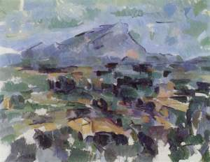 Paul Cezanne, Mt. Saint-Victoire c. 1906