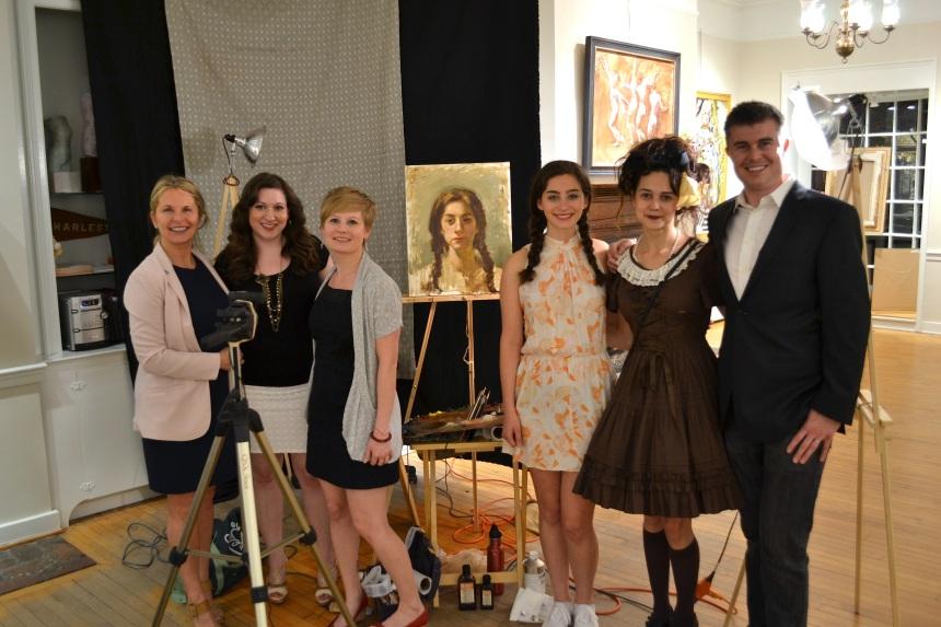 Michele, Pam,  Jessica, Barbara, Teresa, and Clint.