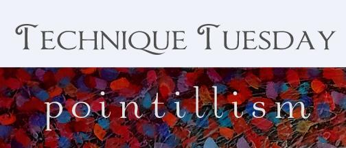 Technique Tuesday Pointillism