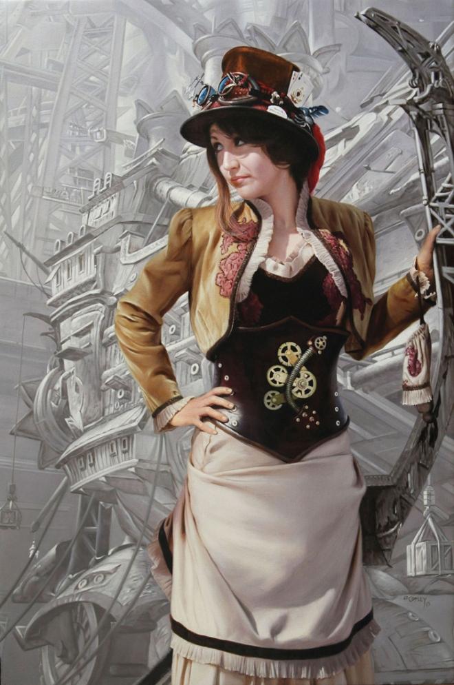 Ed Copley Victorian Fantasy 72