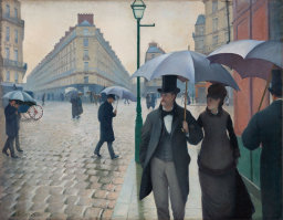 paris street, rainy day