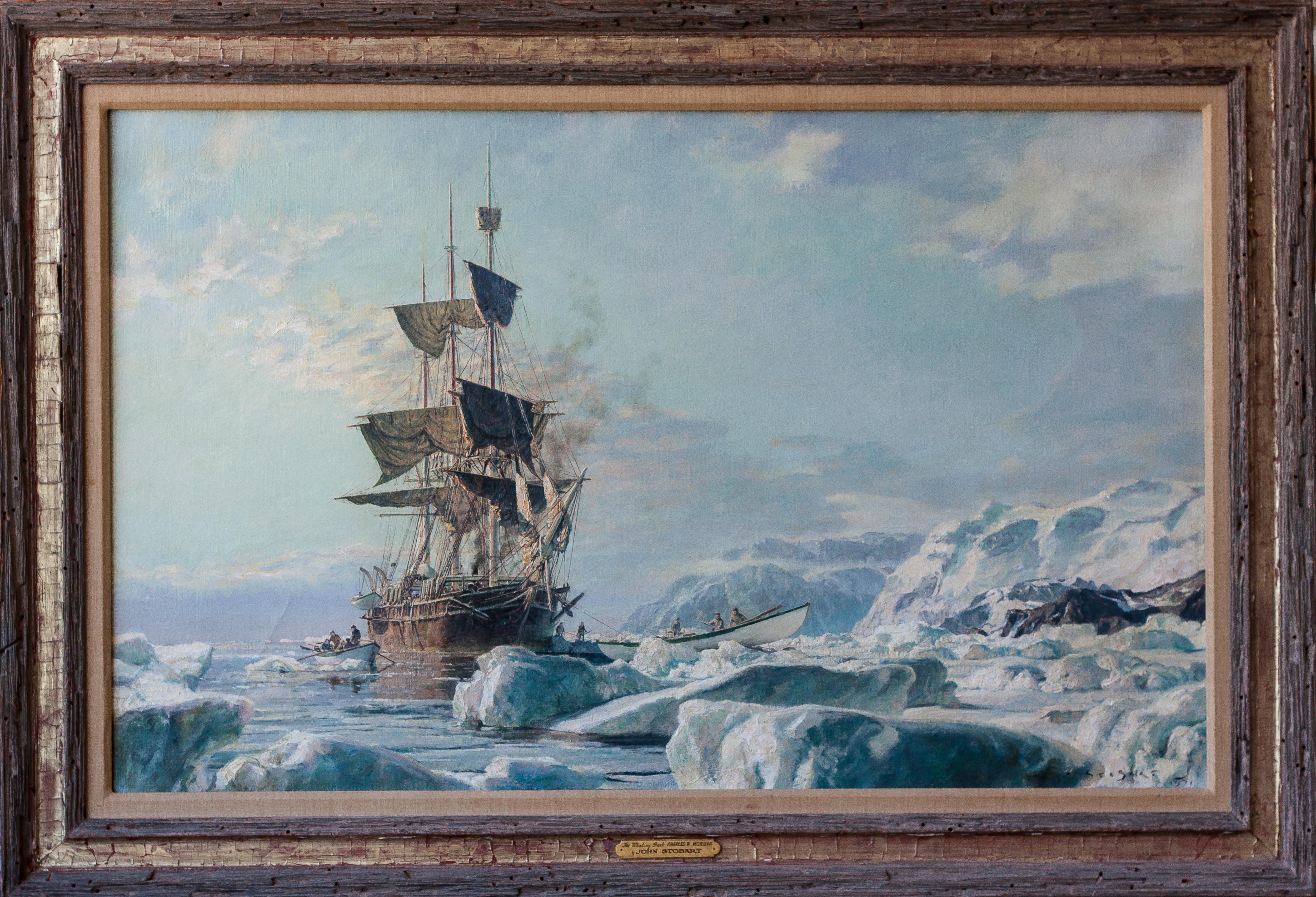 Whaling Bark, Charles W. Morgan HR