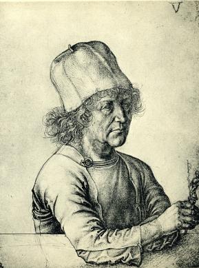 "Albrecht Durer, ""Self-Portrait"""