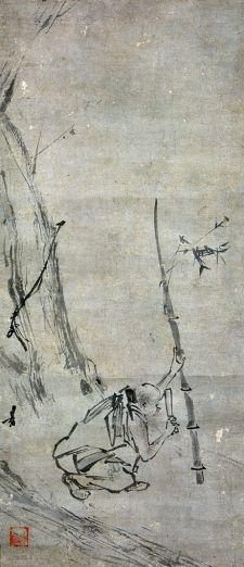 "figure. 7 ""Madman Liang"" by Liang Kai"