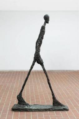"figure. 20 ""Walking Man II"" by Alberto Giacometti; 1960"