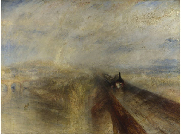 TURNER Rain, Steam, and Speed