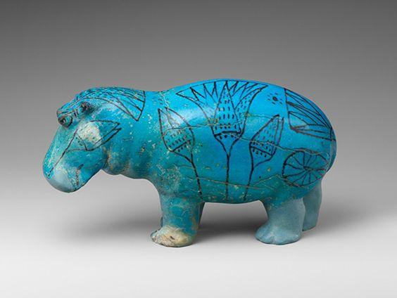 Egyptian Lotus Flower - Hippo