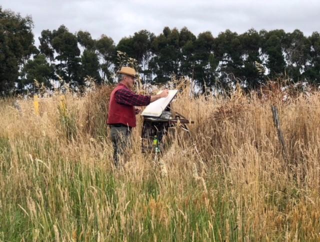 Joseph in field