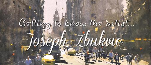 Joseph Zbukvic Blog Banner