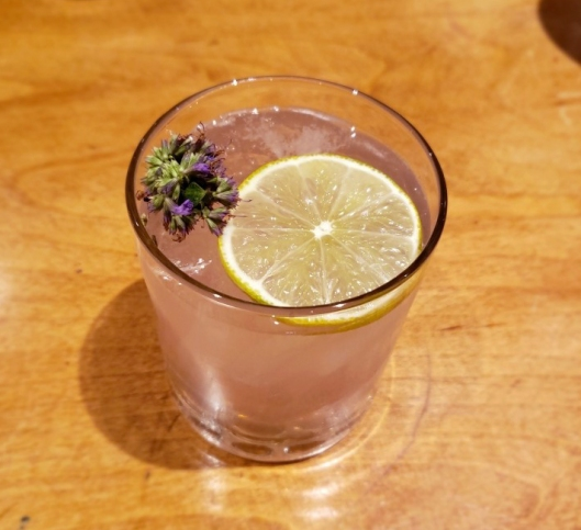 Lavender Infused Gin & Tonic